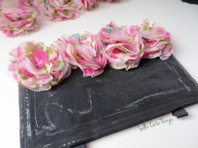 Цветочный клатч
