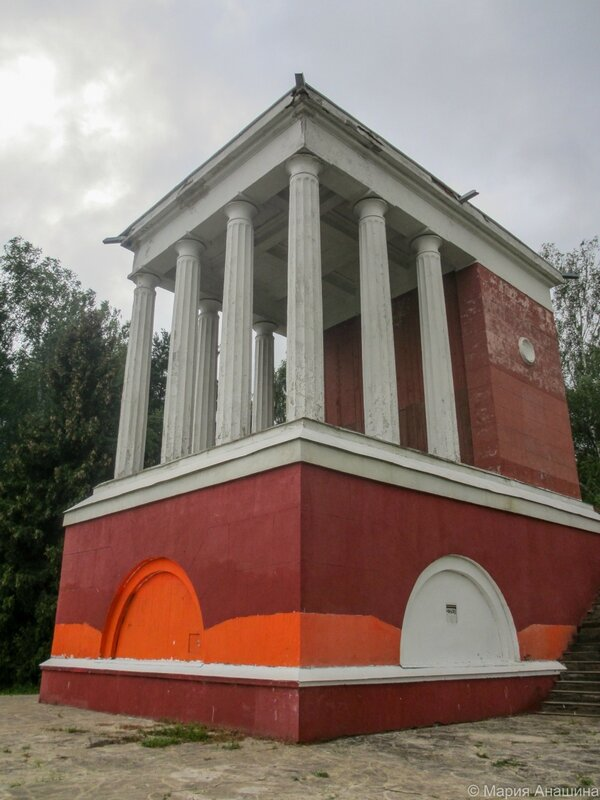 Башня заградворот №114, канал имени Москвы