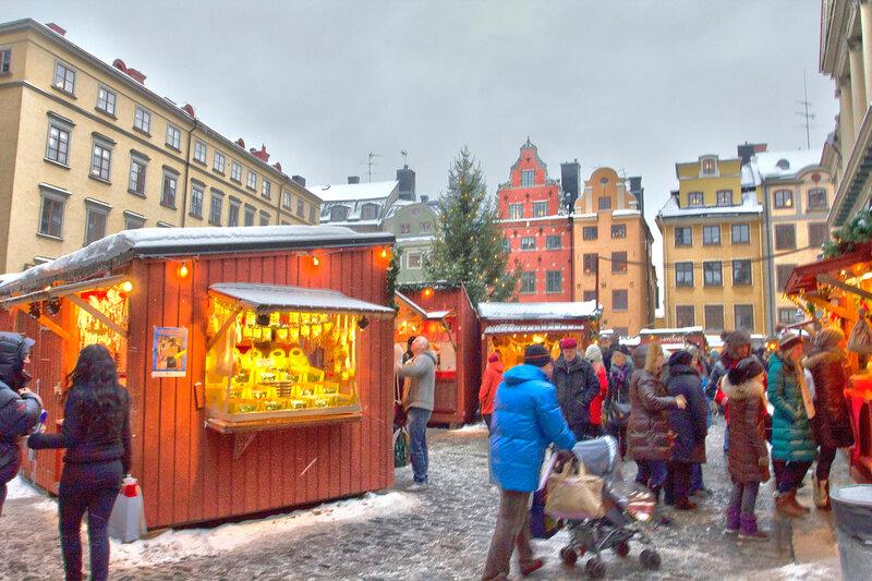 Стокгольм на Рождество