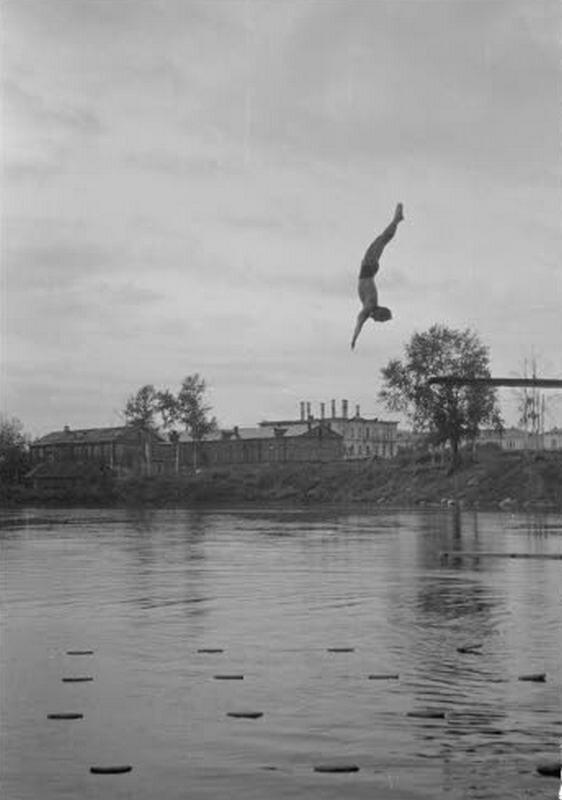 Оккупация Петрозаводска 1941-1944 г.г. Старые фотографии Петрозаводска