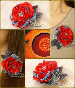 Цветы из джинсовой ткани - Страница 4 0_ad769_a3f560e1_M