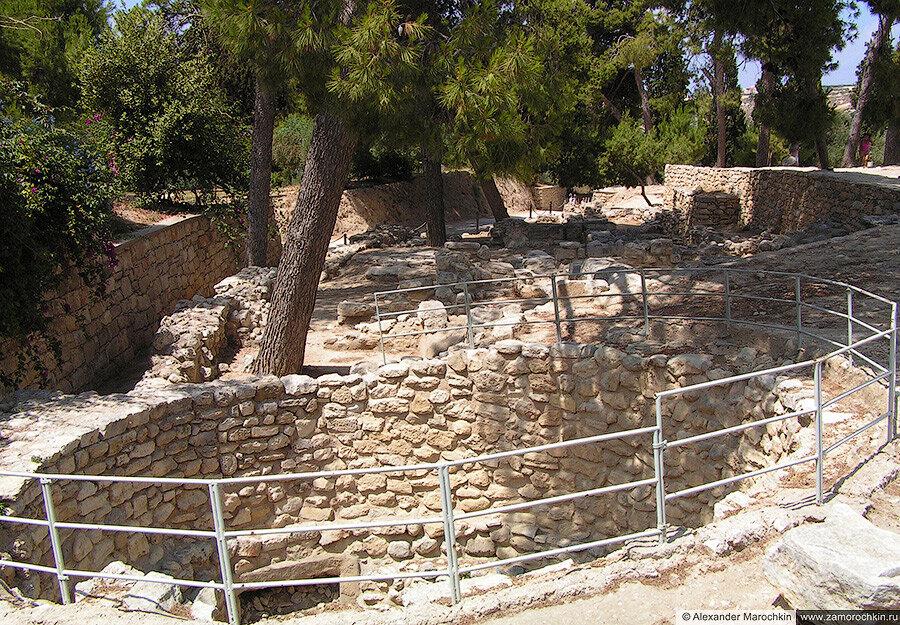 Археологический заповедник Кносс, Греция