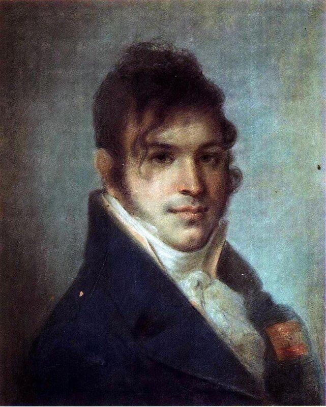 Алексей Венецианов, Портрет А.И. Бибикова. 1808