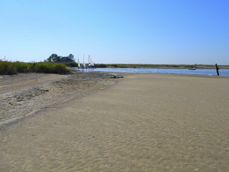 Обнажение песчаного дна у Авдеева гирла... DSCN0441.JPG