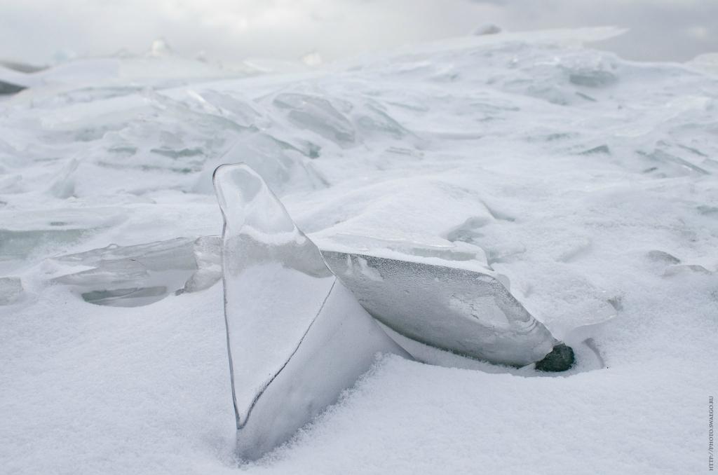 Финский залив. Торосы