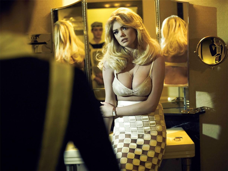 Свидание в номере отеля - Кейт Аптон / Kate Upton by Sebastian Faena in V Magazine 81 spring 2013