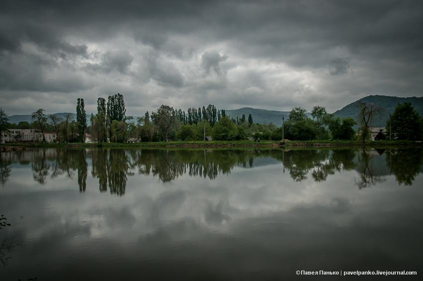 Каменномостский Адыгея озеро pavelpanko