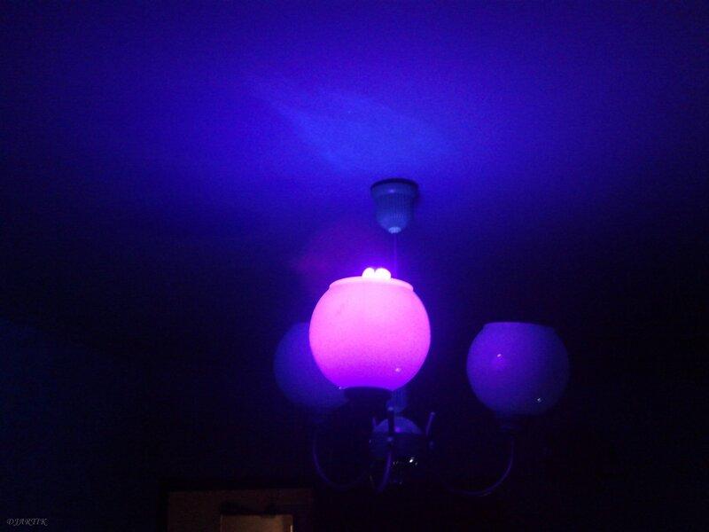 Лампа черного света своими руками 15