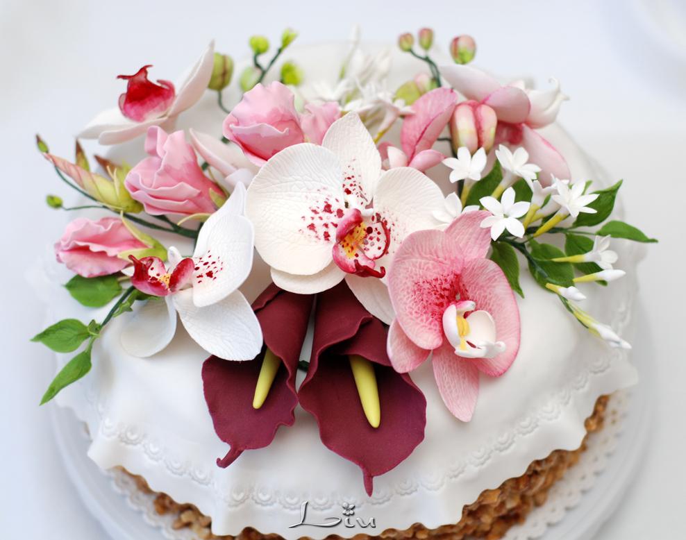 цветочные торты картинки поделитесь сериалом