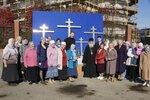 Освящение крестов