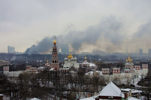 Дым над Мосфильмовской