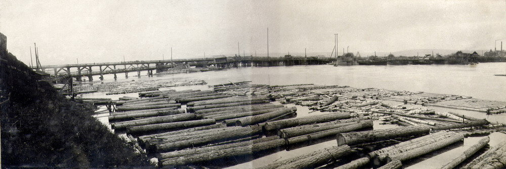 Общий вид постройки. Сентябрь 1934г.