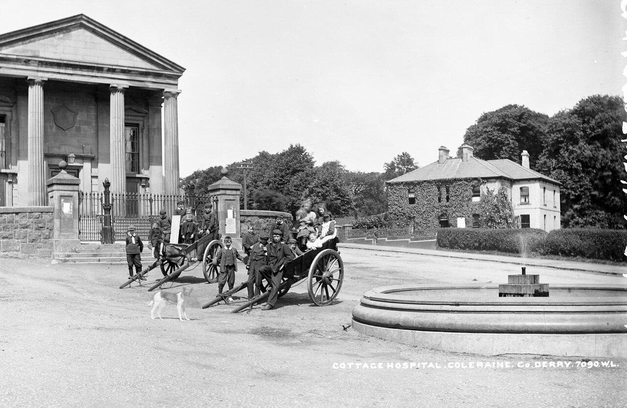 Сельская больница в Колрейне. 1904.