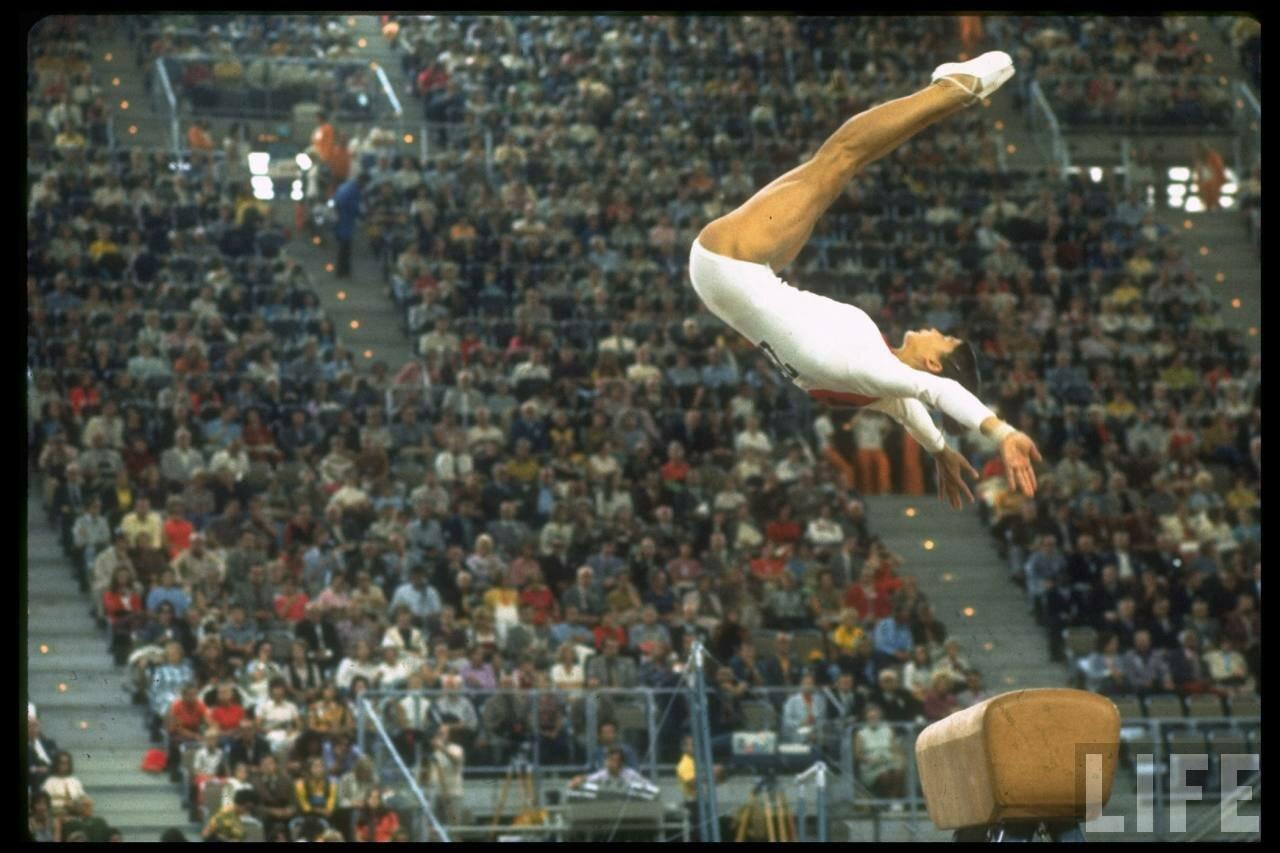 Людмила Турищева выступает на летних Олимпийских игр