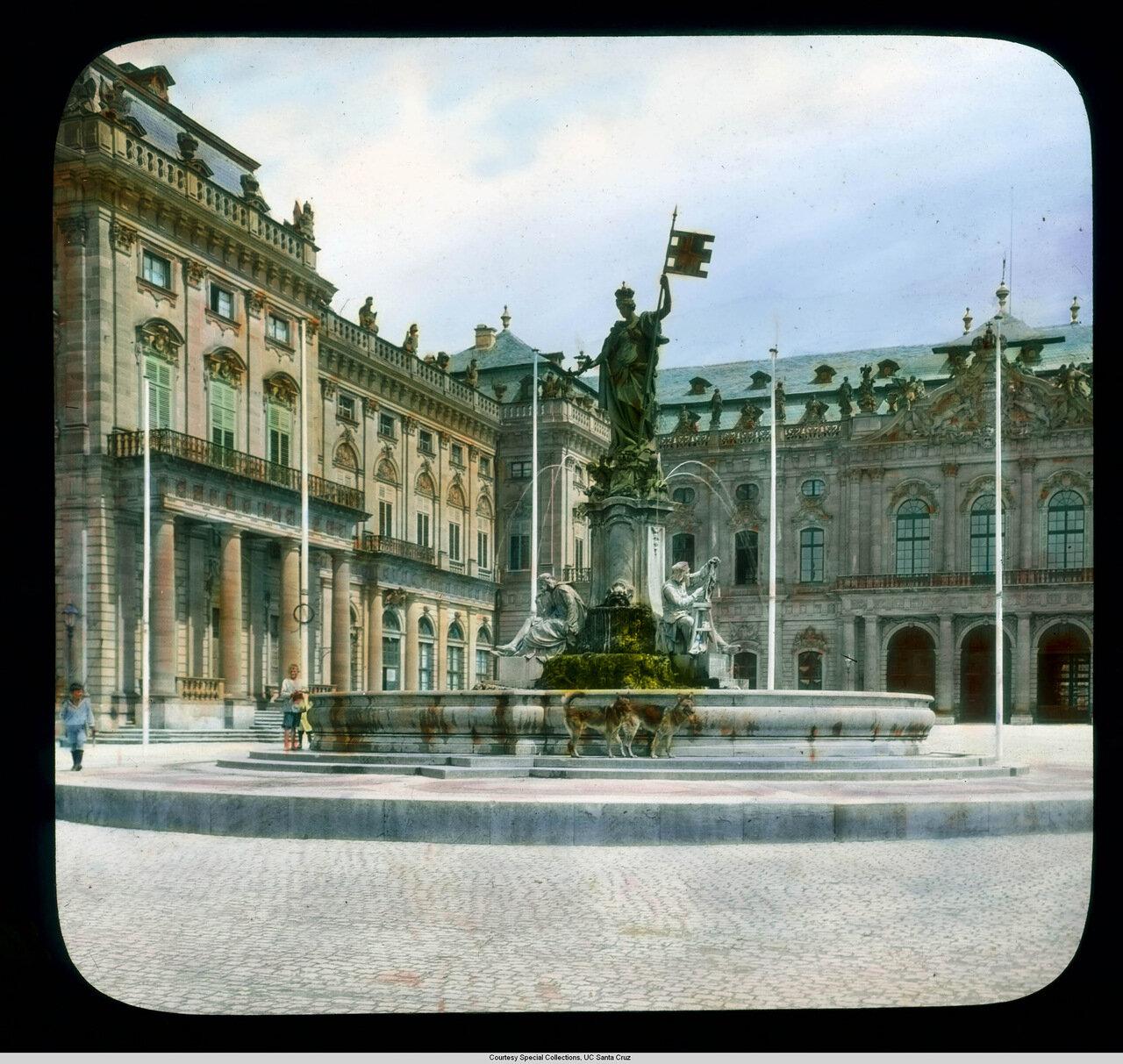 Вюрцбург.  Резиденция епископа