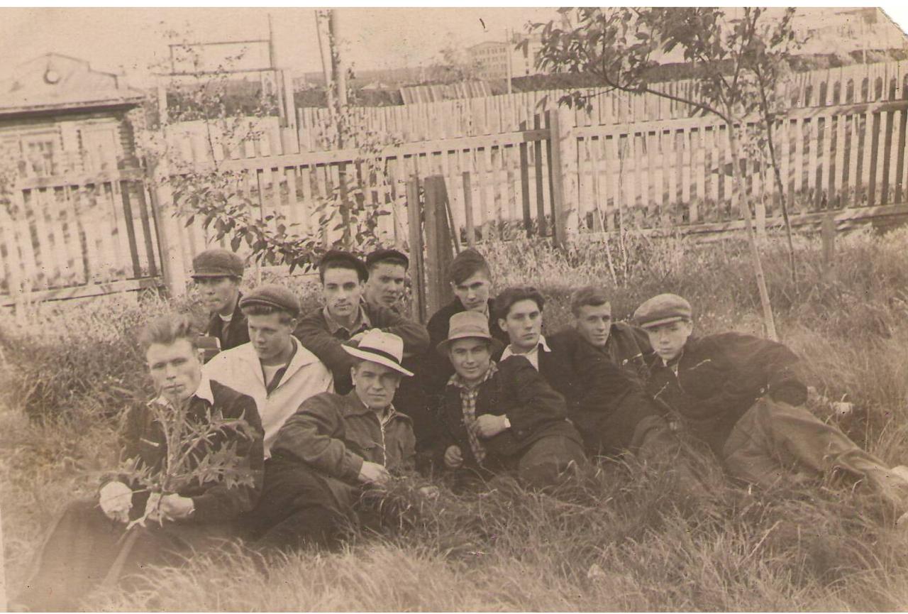 Молодежь химзавода на отдыхе 50-е гг. ХХ в.