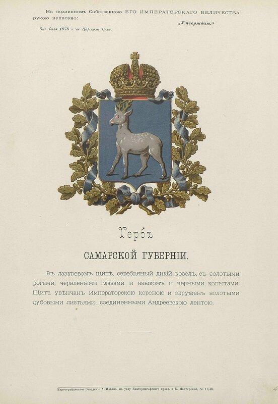 Самарская губерния 1880 год