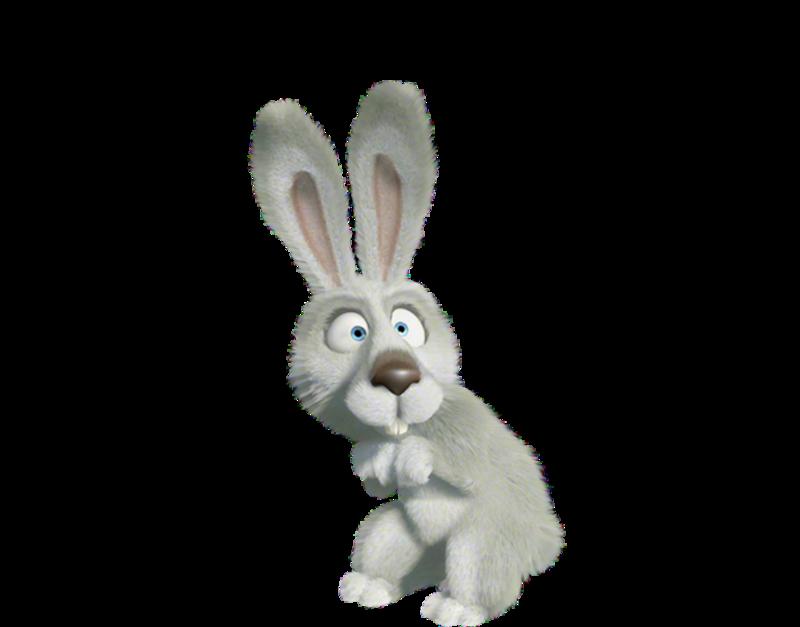 Картинка зайчика с анимацией