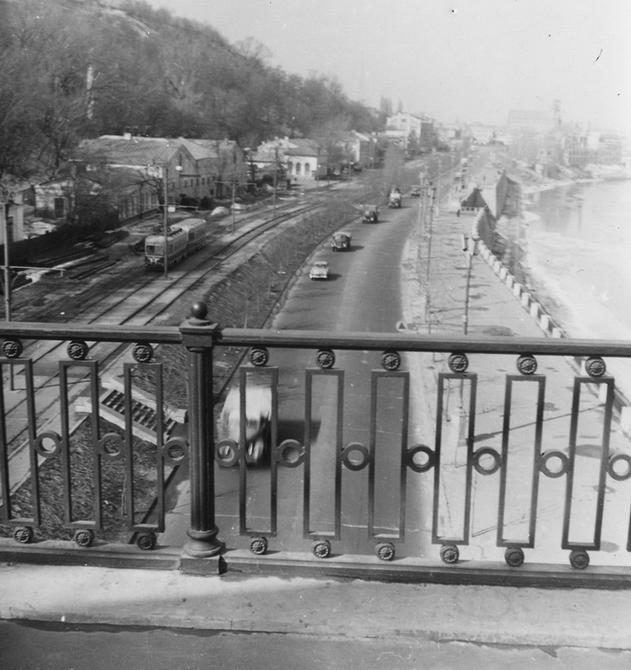 1960. Панорама Набережного шоссе.