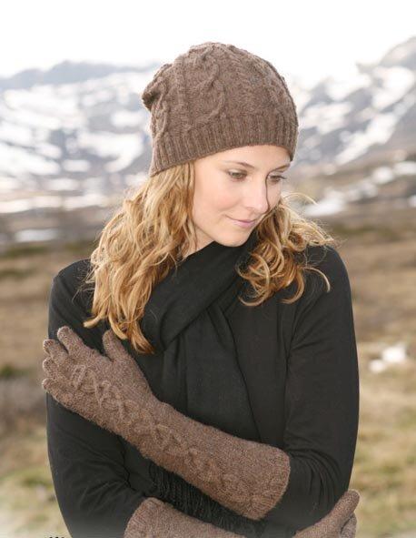 технику вязания перчаток