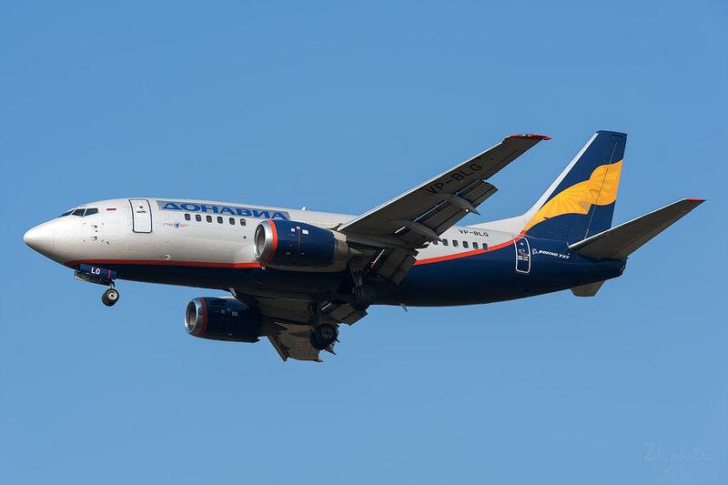 Boeing 737-528 (VP-BLG) Донавиа DSC6696