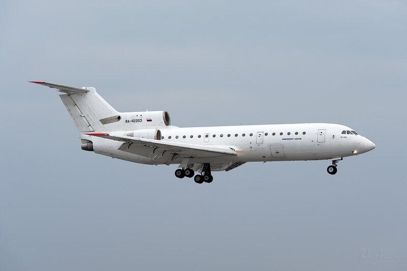 Яковлев Як-42Д (RA-42353) Грозный-Авиа DSC_9335