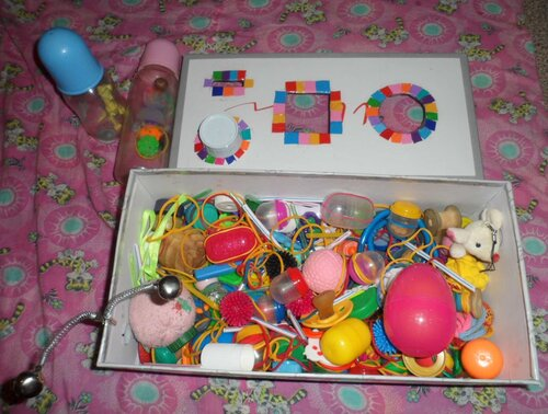 Игрушки для детей от 2 лет своими руками фото