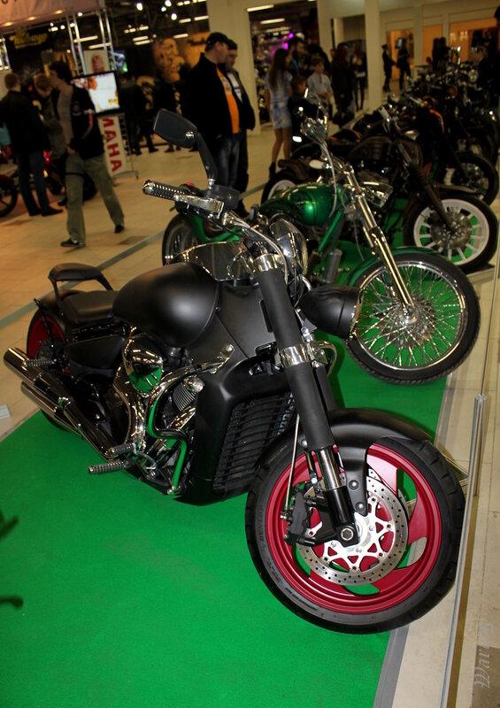 Мотоциклы зоны кастомайзинга