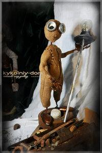 девять. куклы в стиле Steampunk купить
