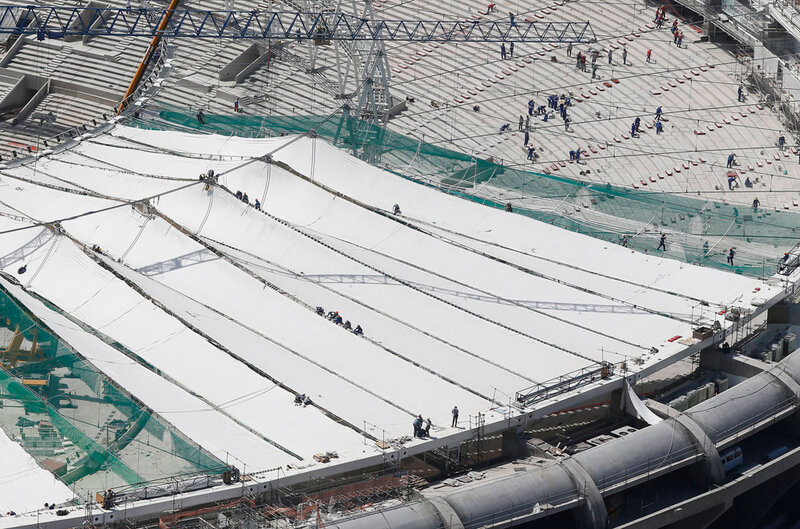 Стадион Маракана готовится к чемпионату мира 0 d9b79 eaf797da XL чемпионаты футбол фотографии стадионы Рио де Жанейро реконструкции Маракана Бразилия