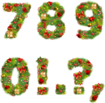 Новогодний,русский алфавит  0_7e8cf_befd5638_S