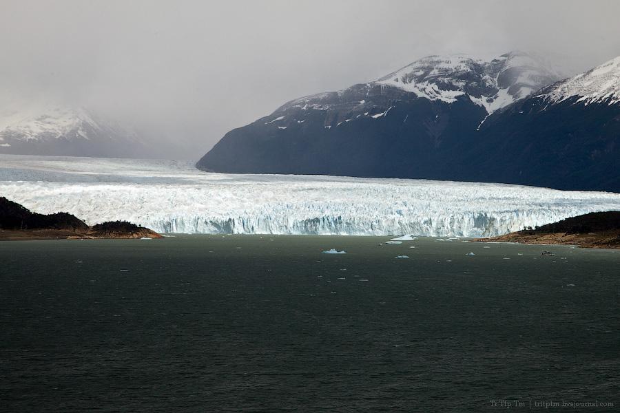 6. Устоявший перед потеплением. Ледник Перито Морено.