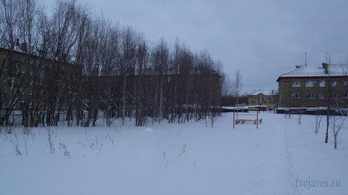Фото города Инта №2788  Гагарина 13, 15 и Геологическая 4 31.01.2013_13:25