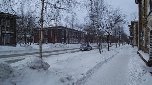 Фото города Инта №3214  Кирова 9, 11, 13, 18 и 16 03.02.2013_12:15