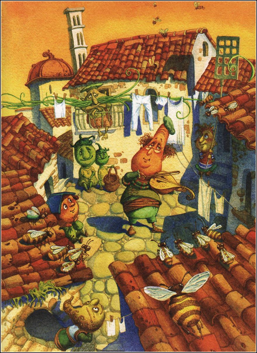 Gianni Rodari is the author of The Adventures of Cipollino
