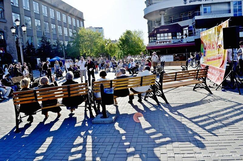 Победная площадка, Саратов, 08 мая 2013 года