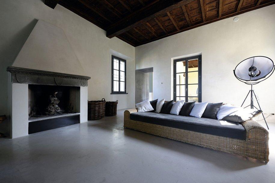 Реставрация семейного поместья в Италии