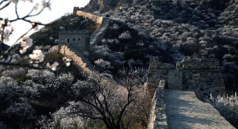Чудесные виды Великой стены в начале весны 0 8228a 1cece13e XL