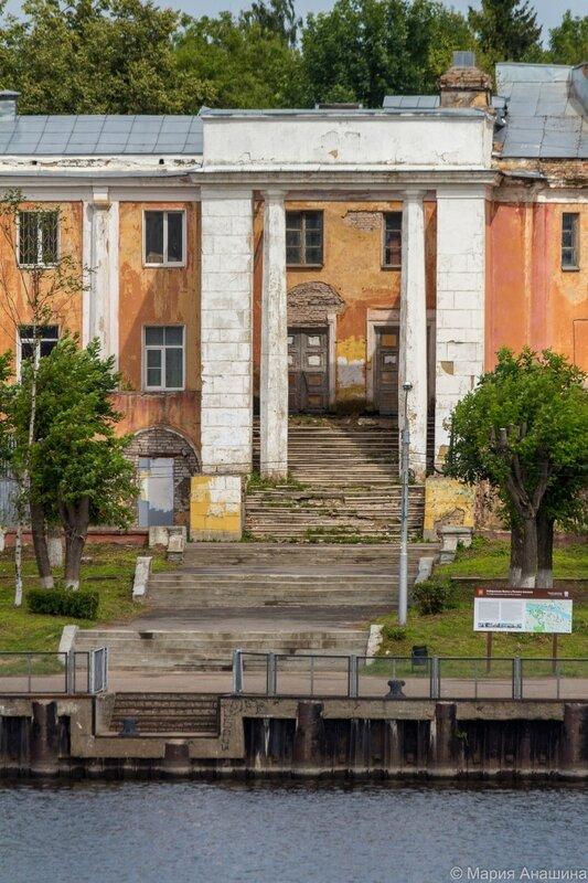 Ступени, Тверской речной вокзал, Тверь