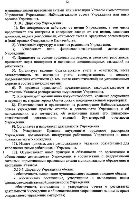 "Устав МУК ЦКиД ""Полярная звезда"""