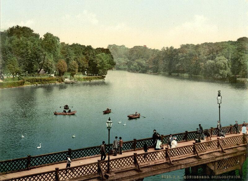 4. Северная сторона Замкового озера, Кенигсберг (Восточная Пруссия)