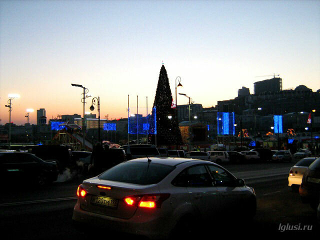 lglusi.ru  Владивосток, зима, вечер