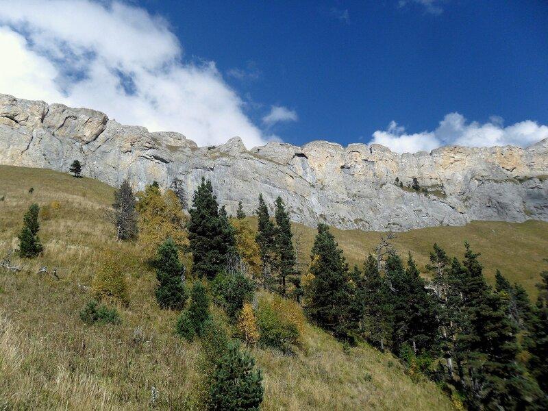 Поход, Тхач, у тропы, Кавказ, сентябрь 2012