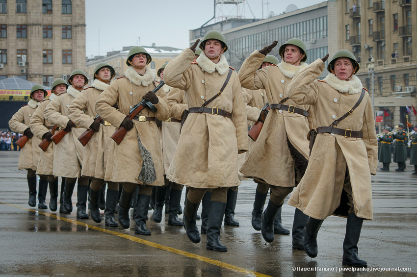 #Сталинград70 Волгоград Сталинград парад марш Панько
