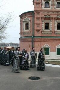 Утреня с Чином погребения Христа Спасителя 2013 Останкино