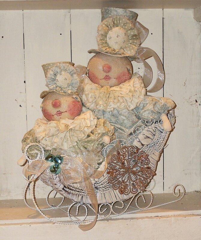 куклы снеговики