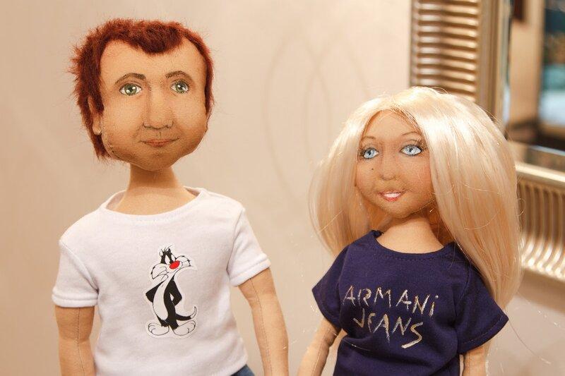 потретные куклы