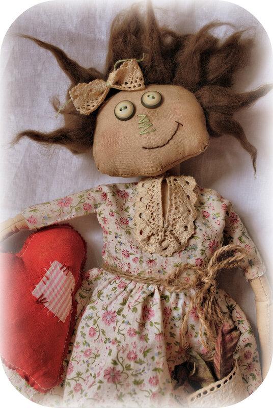 Примитивная кукла своими руками мастер класс
