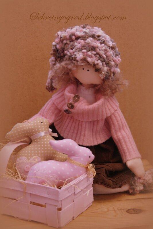 кукла с кроликами