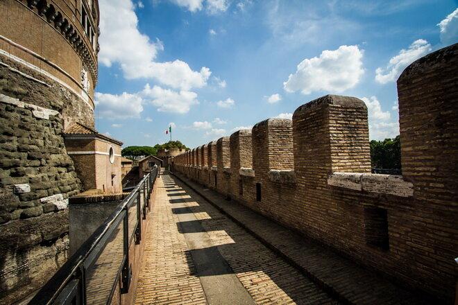 Замок Святого Ангела. Рим, Италия